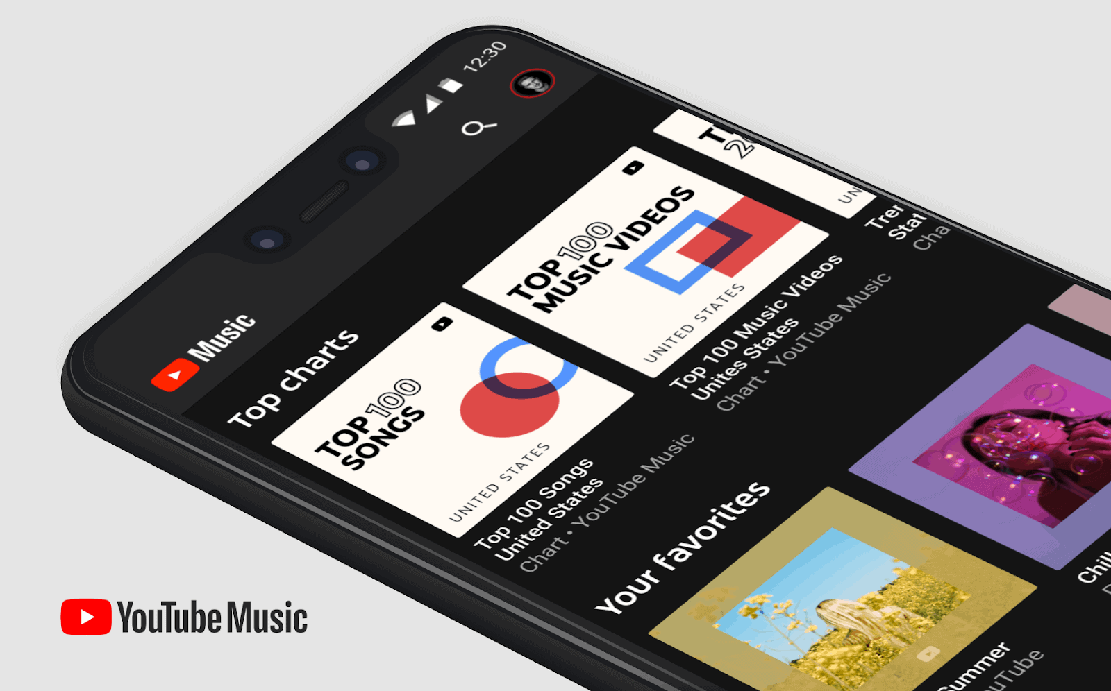 Youtube Music Now Offers Youtube Charts High Resolution Audio