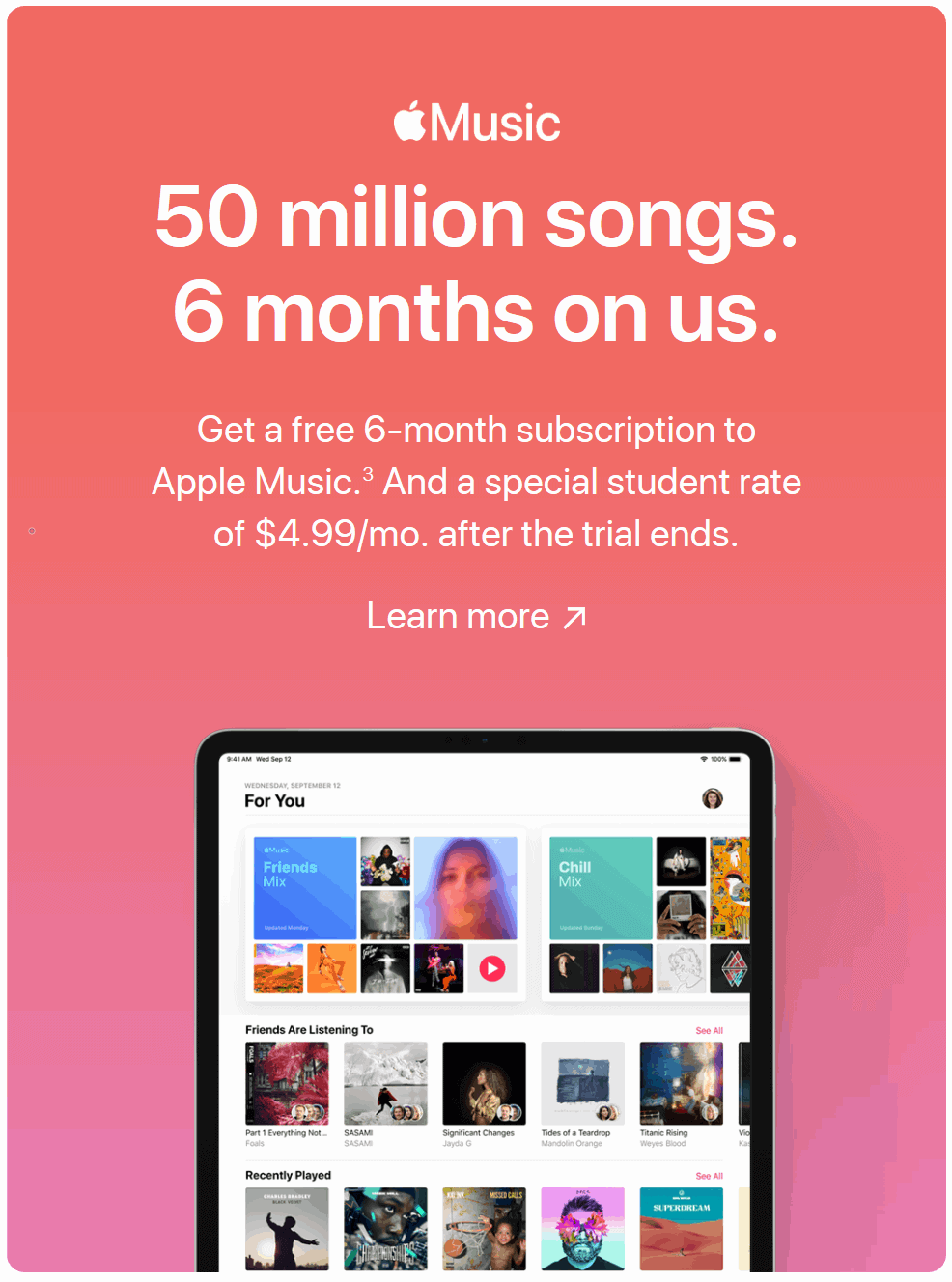 3 Ways to Get Apple Music 6 Months Free Trial( Latest Update)